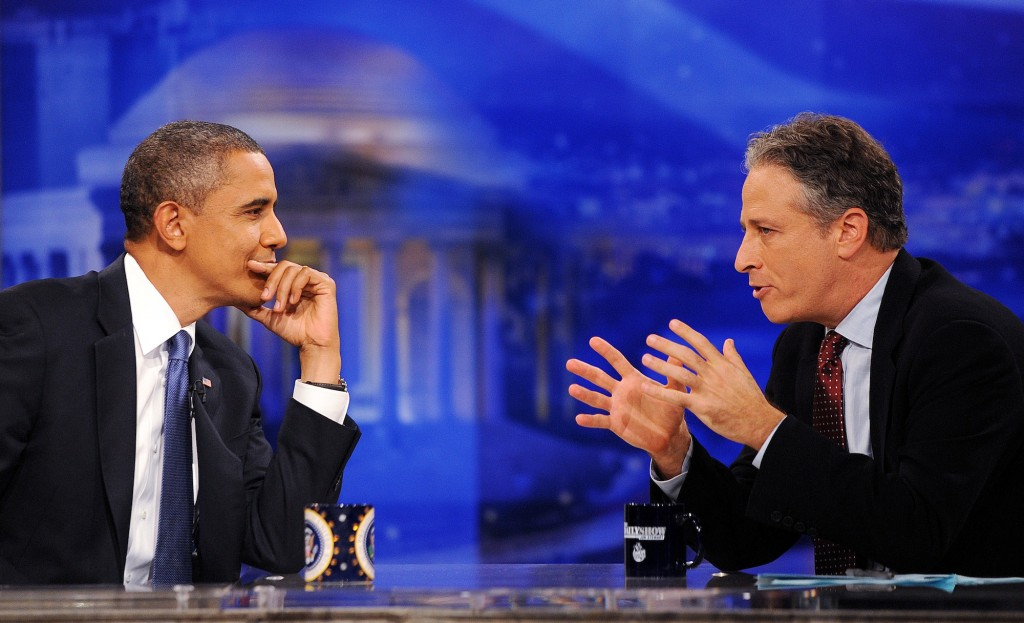 Jon Stewart , Barack Obama